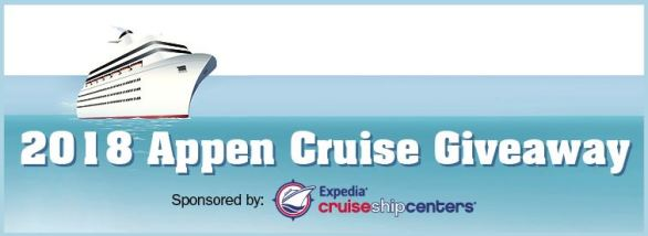 Appen Cruise Giveaway