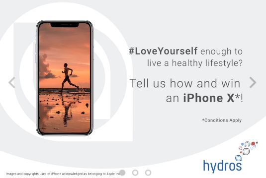 Hydros Love Yourself Giveaway