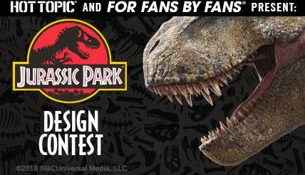 Jurassic Park Fan Art Design Contest