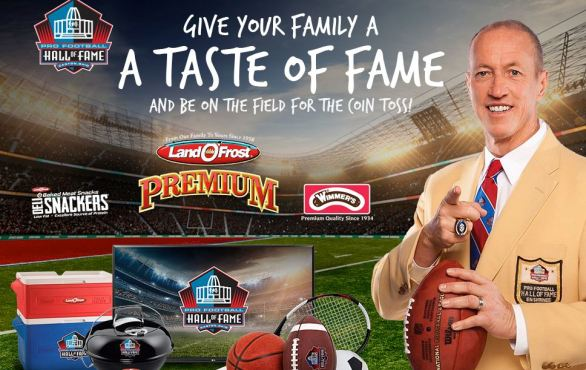 Land O Frost Taste of Fame Sweepstakes