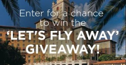 Let's Fly Away Giveaway