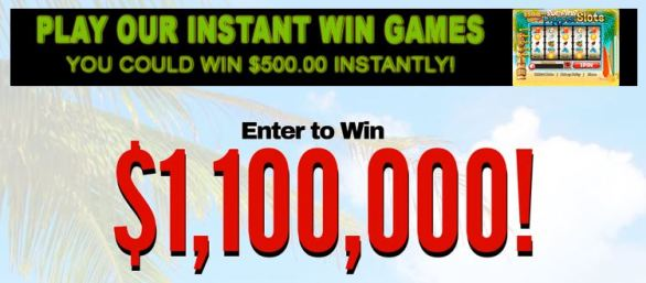 Million Dollar Strike It Rich Sweepstakes