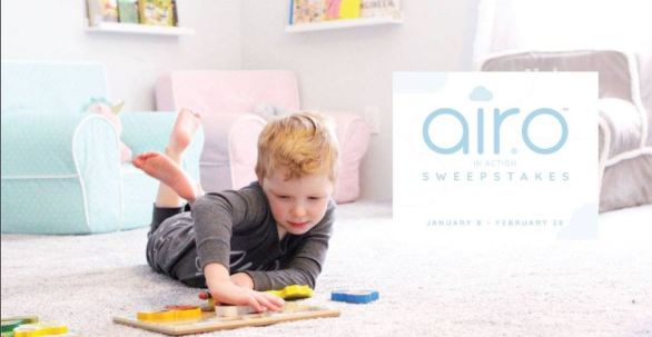 Mohawk Flooring's #AiroinAction Sweepstakes