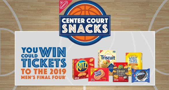 Nabisco Center Court Snacks Sweepstakes