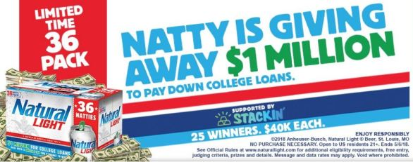 Natty Light Sweepstakes for Natty Stories Contest - Offers Contest