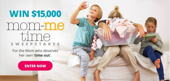Parents $15,000 Mom-Me-Time Sweepstakes