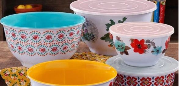 Pioneer Woman Mixing Bowl Sets Giveaway