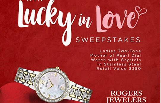 Rogers Jewelers Lucky In Love Sweepstakes