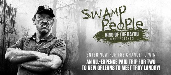 King Of The Bayou Sweepstakes