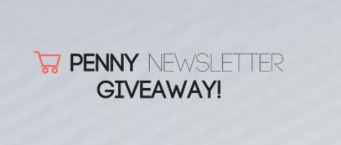 Usepenny Newsletter Giveaway Sweepstakes