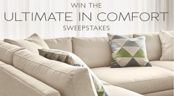 Win the Ultimate in Comfort Sweepstakes