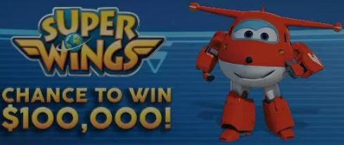 $100,000 Super Wings Contest