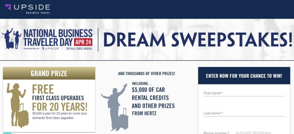 Life dreams sweepstakes