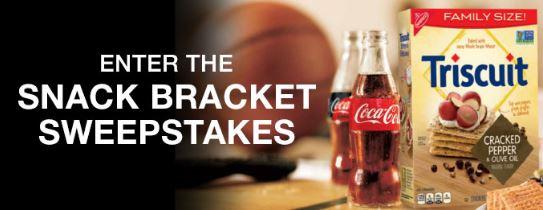 Coca-Cola Snack Bracket Sweepstakes