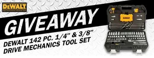 DeWalt 142 Pc Tool Set Giveaway