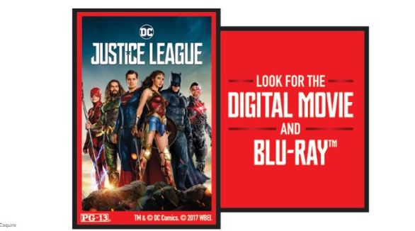 Esquire Justice League Digital Sweepstakes
