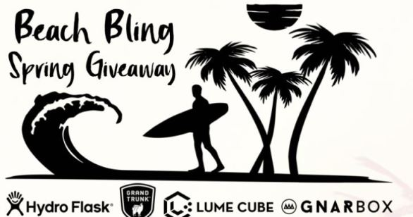 Grand Trunk Beach Bling Spring Giveaway