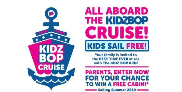 KIDZ BOP Cruise Giveaway Sweepstakes