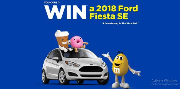 Mars Canada Ford Fiesta SE Giveaway