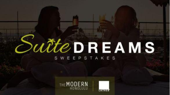 Modern Honolulu Suite Dreams Sweepstakes