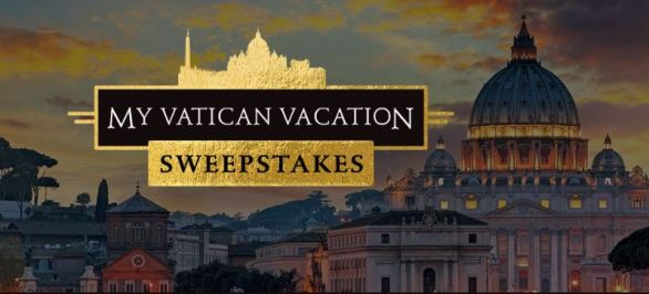 My Vatican Vacation Sweepstakes