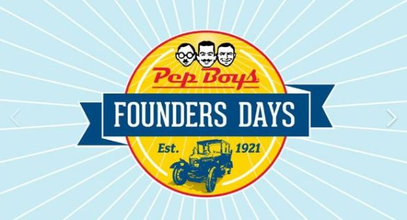 Pep Boys #FindTheFounders Sweepstakes