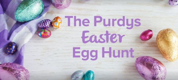 Purdys Chocolatier Easter Egg Hunt Contest