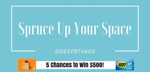 Spruce Up Your Space Sweepstakes