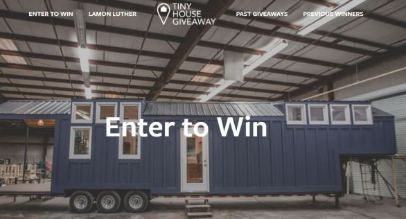 Tiny House Giveaway - Win A Long Tiny House - Offers Contest