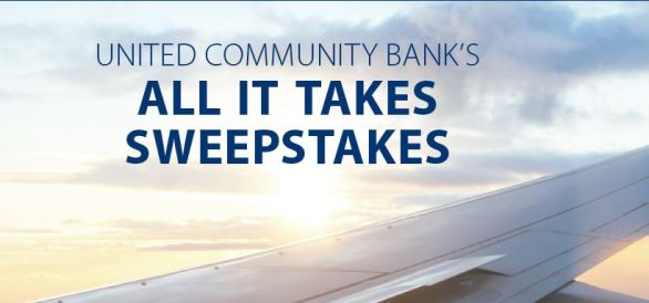 United Community Bank All It Takes Sweepstakes