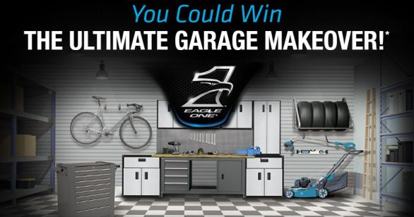 Eagle One Ultimate Garage Makeover Sweepstakes