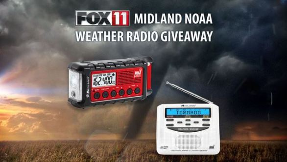 Fox11online Contests - Midland NOAA Weather Radio Giveaway