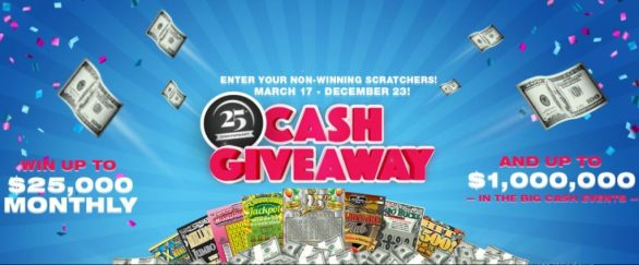 25th Anniversary Cash Giveaway