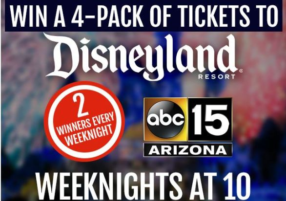 ABC15 Disneyland Resorts Sweepstakes