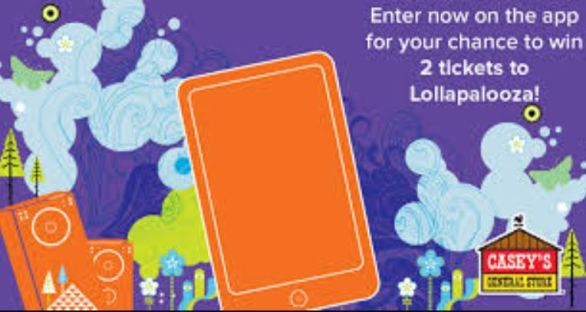 Casey's Lollapalooza Ticket Giveaway