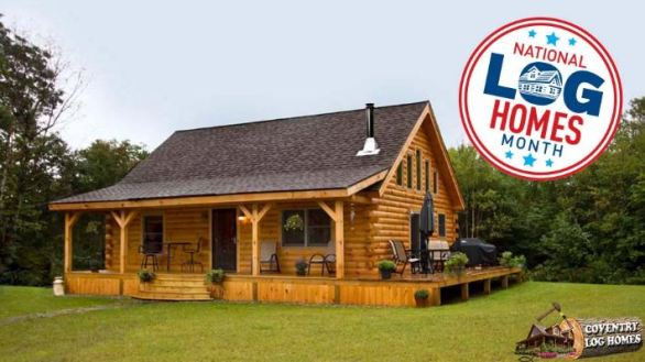 Coventry Log Home Giveaway