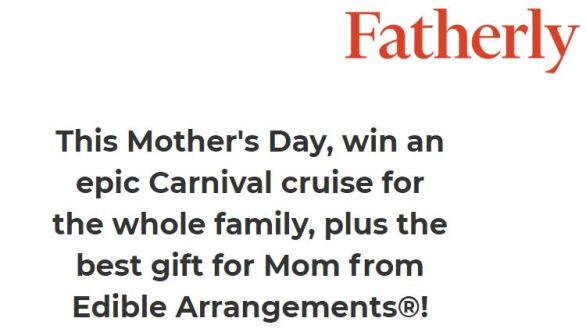 Epic Mother's Day Cruise Sweepstakes