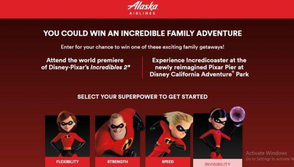 Incredible Adventure Sweepstakes
