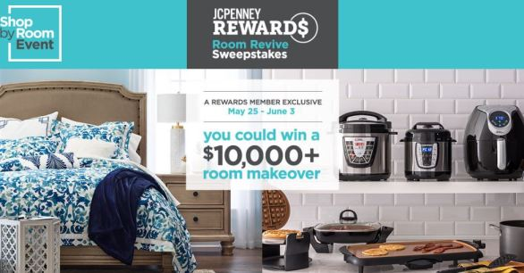 JCPenney Rewards Room Revive Sweepstakes