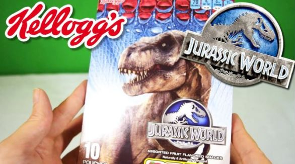 Kellogg's Jurassic World Fallen Kingdom Sweepstakes