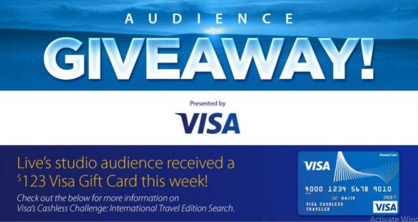 KellyandRyan.com Visa Audience Giveaway