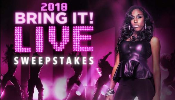 Lifetime Bring It Live Sweepstakes