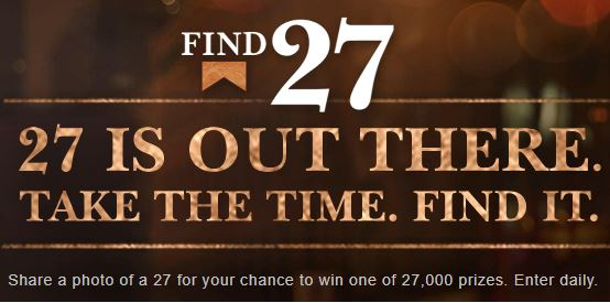 Marlboro Find 27 Sweepstakes