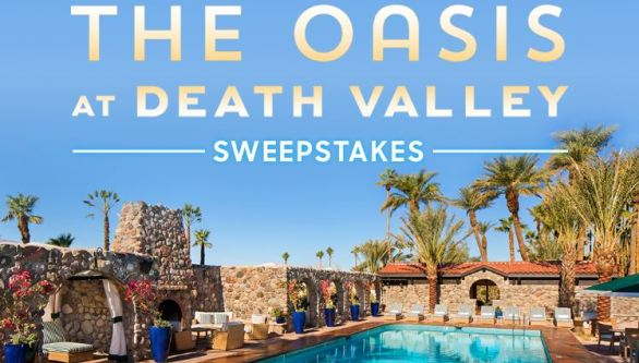 Oasis in Death Valley Sweepstakes