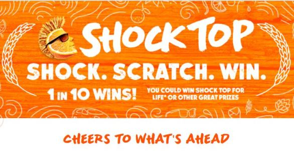 Shock Top Shock Scratch Win Sweepstakes