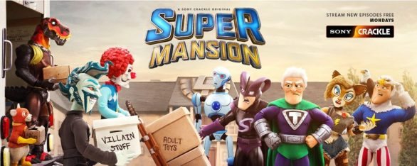Xbox Live and Crackle SuperMansion Sweepstakes