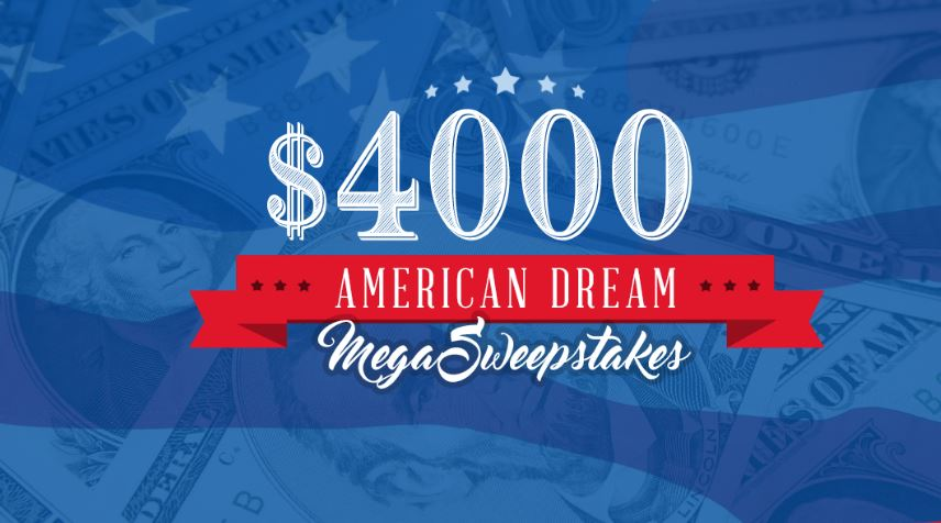 Mega sweepstakes and contests