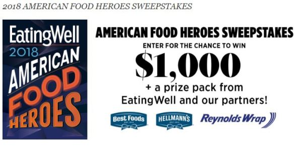 American Food Heroes Sweepstakes