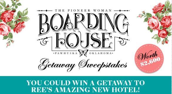 Boarding House Getaway Sweepstakes