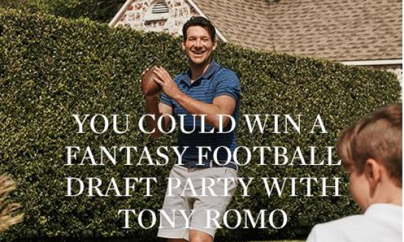 Chaps Ultimate Draft Day Sweepstakes